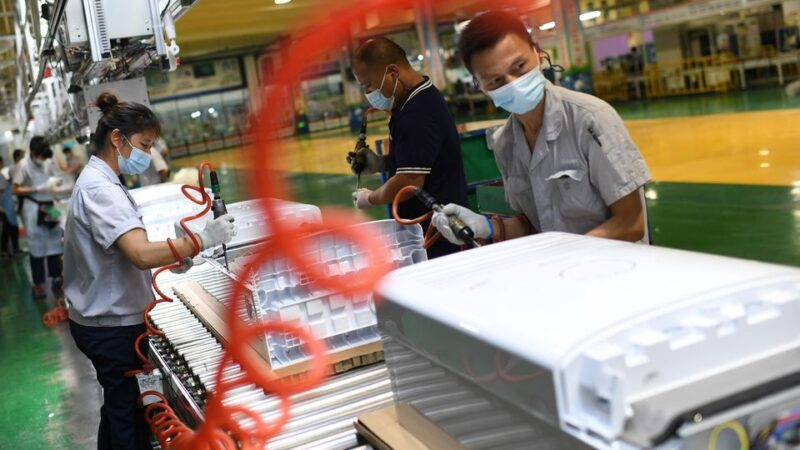 China's factory profits slow as industries brace for power crisis